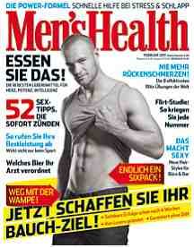 German men's health featuring red wing shoes